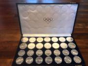 Rarität Olympia Münzen Montreal - Komplettset