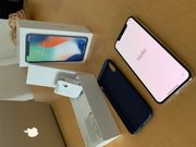 iPhone X silver 256Go