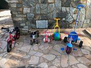 Kinder-Fuhrpark mit 5 Fzg bspw