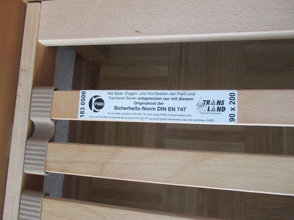 Paidi Etagenbett Buche Massiv : Paidi varietta etagenbett buche massiv neu ulm