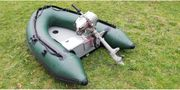 Schlauchboot incl Motor - fester Aluboden -