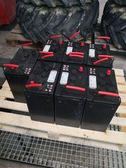 7 x Akku-Traktionsbatterien 6DC-330 6V