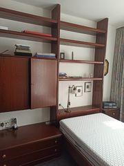Schlafzimmer Möbel 2 Betten Regale