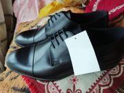Elegante Herren - Schnürschuhe dunkelbraun Größe