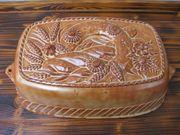 Brotbackform Auflaufform aus Keramik