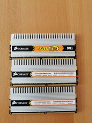 Corsair XMS2 6GB DDR2 PC2-6400