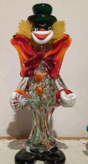 Muranoglas Clowns - Ca 50 Stück -
