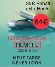 IQOS Gutschein 15 inkl 9