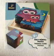 Holzwürfel Puzzle für Kleinkinder 2