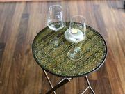 Möbel Beistelltisch Mosaikglas von KOKON