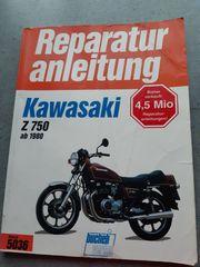 Bucheli Reparaturanleitung Kawasaki Z750 ab