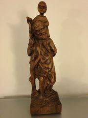 Antik Rarität Alte Skulptur Holzfigur