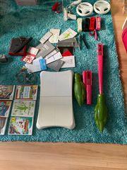 Wii mini mit 9 Spiele