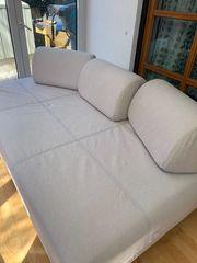 Bettsofa Schlafcouch Bett mit Kasten