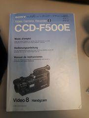 Sony V8 Kamera komplett mit