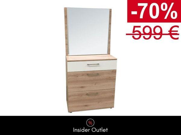 -70 Schuhschrank Spiegel Set 80x90