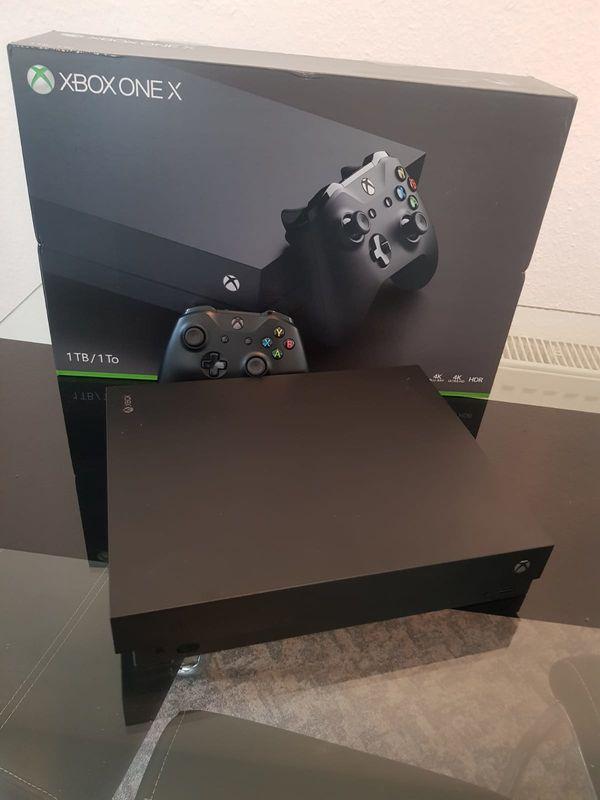 Xbox one X 1tb gebraucht