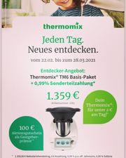 Thermomix Repräsentantin TM6 Beratung Vorführung