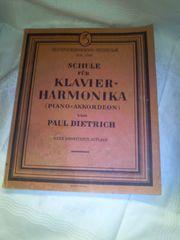 Schule für Klavier - Harmonika von