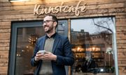 Kunstcafé im Herzen Darmstadts