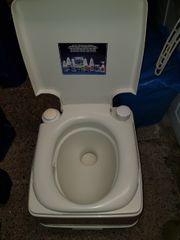 WC Chemie Toilette