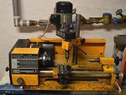 Drehmaschine mit Fräsvorrichtung Emco Compact