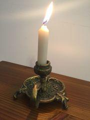 Kerzenhalter - Messing