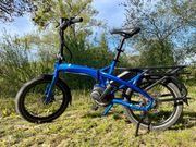 Verkaufe Ebike-Klapprad Faltrad TERN Vektron