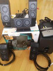 Logitech Sound System Lautsprecher X-540