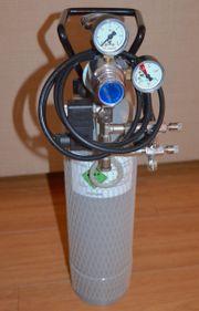 CO2 Anlage 2-fach Nadelventil inkl