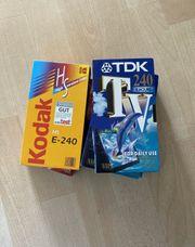 VHS Kassetten Videokassetten
