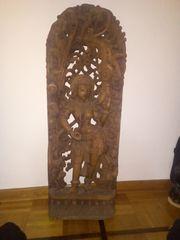 Indische Rosenholzschnitzerei