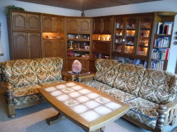 Hochwertige Anbauwand Wohnzimmerschrank Mit Glastüren In Hochheim