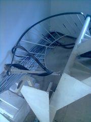 Wendeltreppe Spindeltreppe Treppe mit Eiche