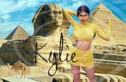 KYLIE JENNER Ägypten Poster Souvenir