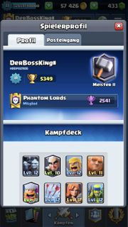 Clash Royale Account MEISTER II