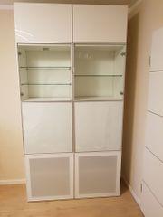 Weißer BESTA IKEA Schrank B