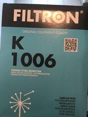 Innenraumfilter Filtron Mann Hummel K1006