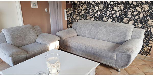 3er Sofa Und Sessel Grau Abholung Heute Oder Morgen 120 Eur In