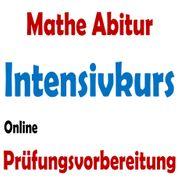 Abi Mathe Prüfungs-Vorbereitung Intensivkurs Online