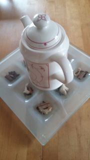 Verkaufe Tudor Kaffeekanne Model Strohblume