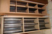 CD-Regale Holzausführung verschiedene Ausführungen