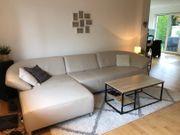 Couch Sofa Wohnlandschaft echt Leder