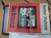 Berliner Illustrierte Sonderdruck Das Attentat