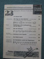 Arbeitshilfen für Musik in Kindergarten