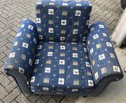 Sessel mit Federkern und Liegefunktion