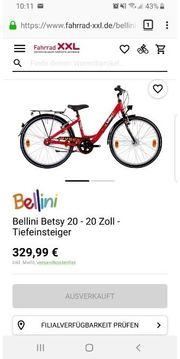 Mädchen Fahrrad Bellini