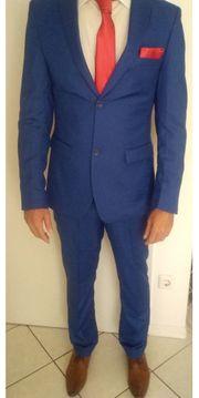 Anzug Blau Gr M - 50