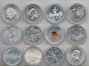 20 Euro Gedenkmünzen 2017 - 2018 -
