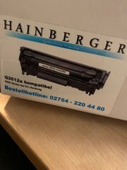 Hainberger Toner ersetzt Q2612a für